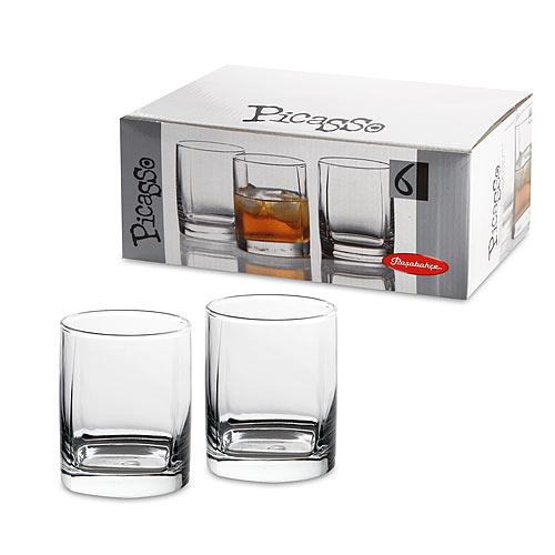 Picasso Набор Стаканов для виски 6шт 275мл  стекло