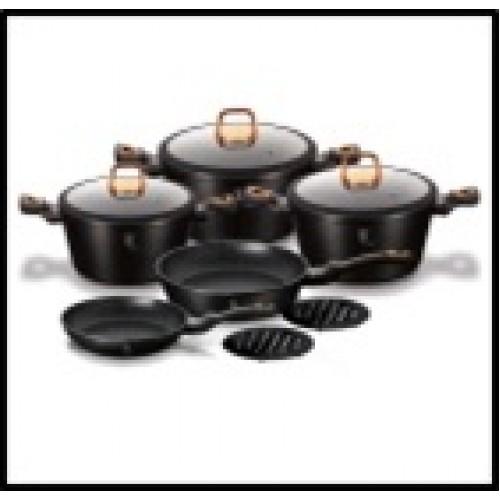 BLACK  ROSE Collection  Набор посуды 10пр