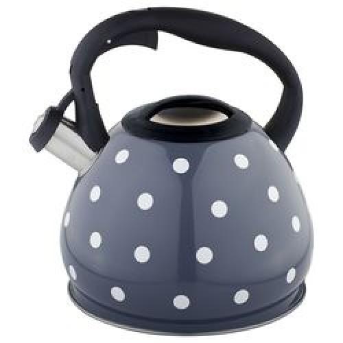Чайник со свистком 3,0л ,индикатор нагрева, индукц