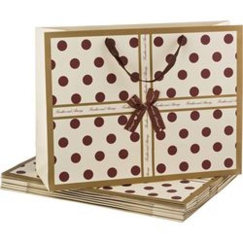 Пакет подарочный бумажный 47*35*14,5см мин10