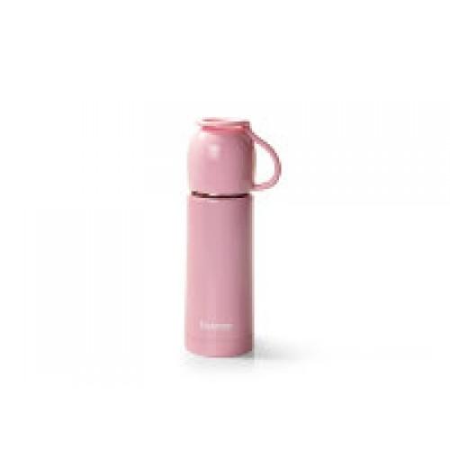 Термос АНГЕЛ 350мл нжс, цвет розовый