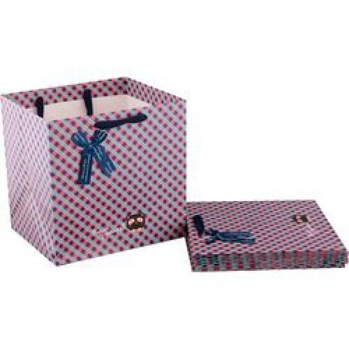 Пакет бумажный подарочный 30*30*25см мин.10шт