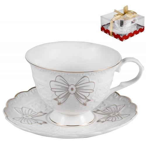 101-30023 Набор чайный 2пр на 1персону фарфор в уп